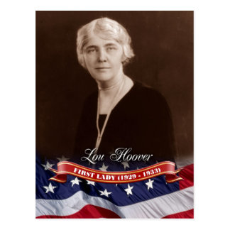 Lou Hoover, First Lady of the U.S. Post Cards