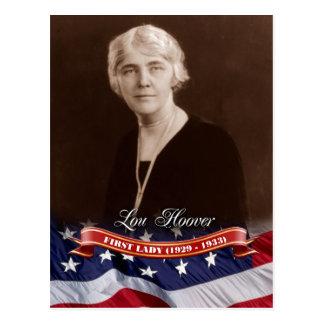 Lou Hoover, primera señora de los E.E.U.U. Postales
