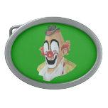 Lou jacob Clown Buckle Oval Belt Buckle