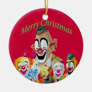 Lou Jacob Clown Christmas Ornament