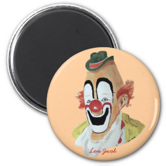 Lou Jacob Clown Magnet
