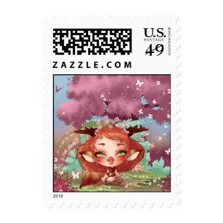 Lou KITSUNE Stamp
