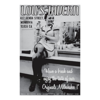 LOU S TAVERN POSTERS