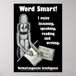 Lou Van Loon - Word Smart Poster