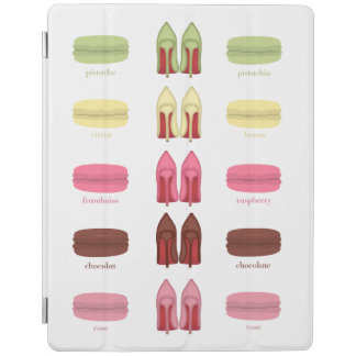 LOUBOUTINS AND MACARONS flavors iPad Cover