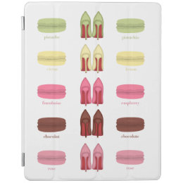 LOUBOUTINS AND MACARONS flavors iPad Smart Cover