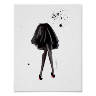 Louboutins in Ink Poster