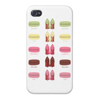LOUBOUTINS Y MACARONS iPhone 4/4S CARCASA