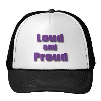 Loud and Proud violet Trucker Hat