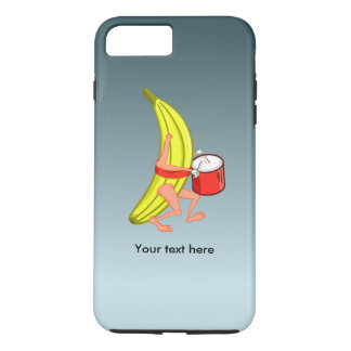 Loud Banana Who Loves Plaing The Drums iPhone 8 Plus/7 Plus Case