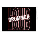 Loud Drummer  Card