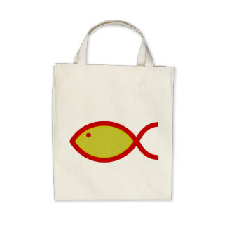 LOUD Fish - Gold with Red Bag