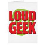 Loud Geek Card