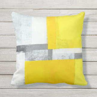 Grey Outdoor Pillows & Cushions