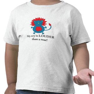 Loud Lion T-shirt for little boys