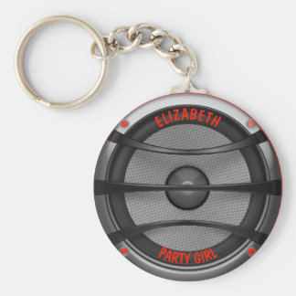 Loud Music Speaker Dancing Party Keychain