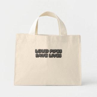 Loud Pipes Saves Lifes Tote Bag
