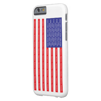 Loud & Proud American Flag Barely There iPhone 6 Case