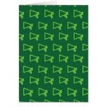 Loud Speaker greens Cards