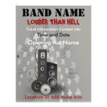 Louder Than Hell Music Flyer