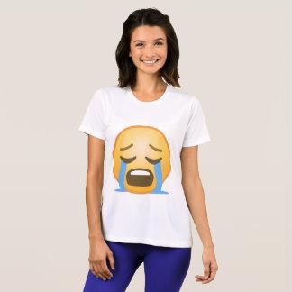 Loudly Crying Emoji T-Shirt