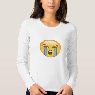 Loudly Crying Face Emoji T-shirt
