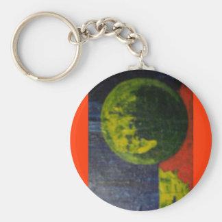Loudness Basic Round Button Keychain