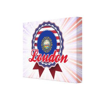 Loudon, NH Lona Envuelta Para Galerías