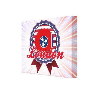 Loudon, TN Lona Envuelta Para Galerías