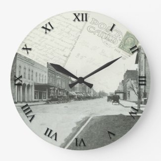 Loudonville Ohio Post Card Clock - 1924