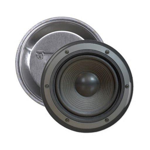 Loudspeaker boxes button