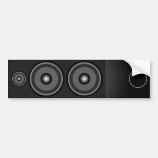 Loudspeaker Bumper Sticker