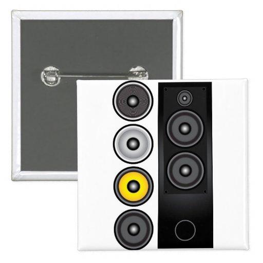 Loudspeaker Pinback Buttons