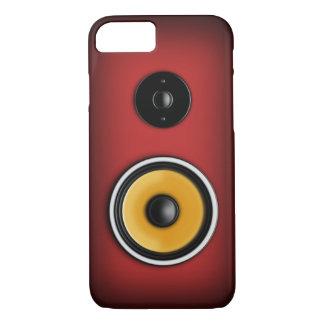 Loudspeaker iPhone 7 Case Red