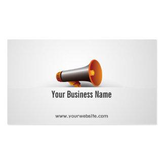 Loudspeaker/Megaphone Business Card