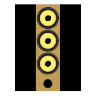 Loudspeaker System Postcard