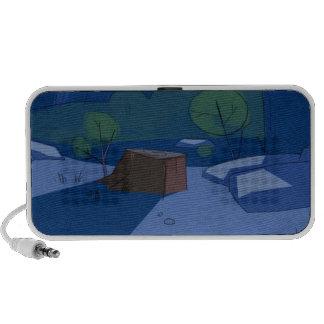 """loudspeakers """"90 ' S animation """" Notebook Speaker"""
