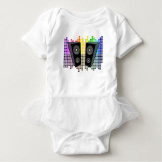 Loudspeakers - transparen baby bodysuit