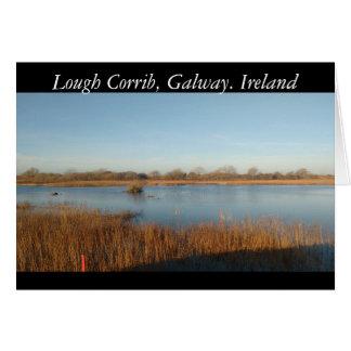 Lough Corrib, Galway.Ireland Card