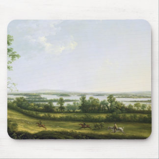 Lough Erne from Knock Ninney, with Bellisle in the Mouse Pad