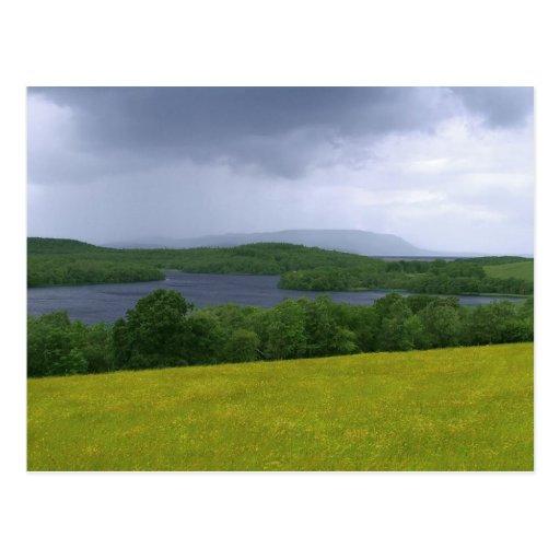 Lough Erne In Ireland Postcard