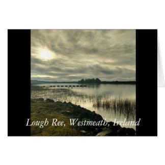Lough Ree, Westmeath, Ireland Greeting Card