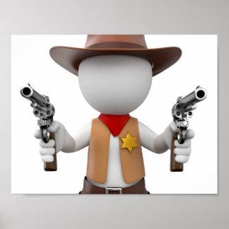 Loui whites como sheriff póster
