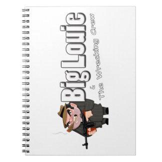 Louie grande y el cuaderno arruinador del equipo