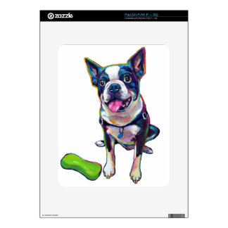 Louie the Boston Terrier iPad Decal