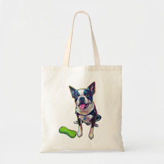 Louie the Boston Terrier Tote Bag