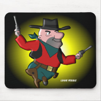 Louie The Looter a.k.a. Louie The Looper Mouse Pad