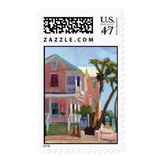 Louies Backyard postage stamp