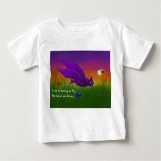 Louie's first flight baby T-Shirt