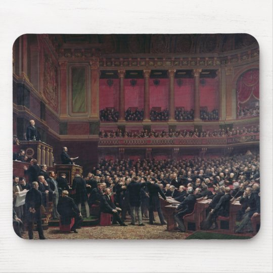 Louis Adolphe Thiers Mouse Pad